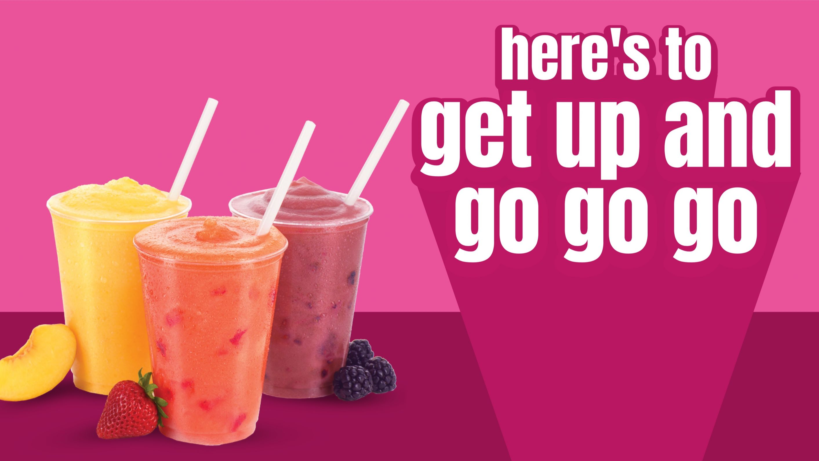 Fresh smoothies slide, HTML5 Animated Graphics
