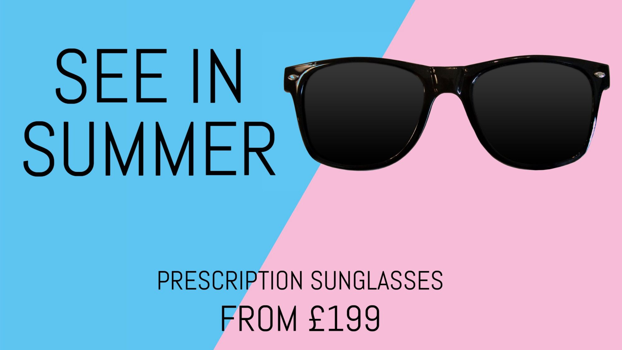 Prescription Sunglasses slide, HTML5 Animated Graphics